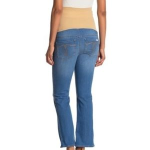 **Seven7 Over the belly Maternity Bootcut Jeans